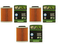 HiFlo (3) Pack Oil Filters Can-Am Outlander Max 800R EFI 2011 2012