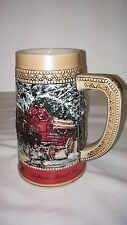 (#307)  BUDWEISER BEER STEIN  |  CLYDESDALES COLLECTOR'S SERIES  |  1987