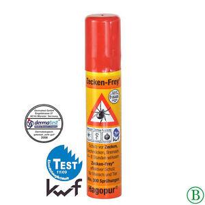 Zecken-Frey Spray 3 St., praktische Größe, gegen Zecken Zeckenfrei Hagopur H-104