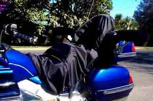 Tailored Motorcycle Shower Cover. CST