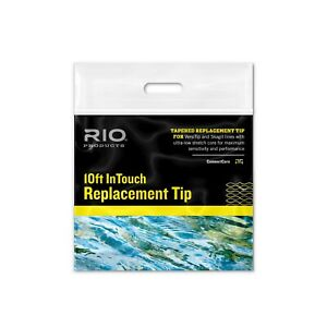 RIO INTOUCH REPLACEMENT TIP 10' FOOT SINK TIP TYPE 6 - 65 GR FOR 6 WT FLY LINE