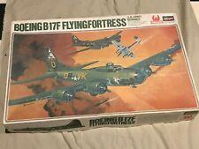 VINTAGE 1/72 Hasegawa Boeing B-17 Flying Fortress MODEL KIT JS-112 HELLS ANG