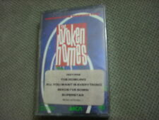 SEALED RARE OOP Broken Homes CASSETTE TAPE Straight Line Through Time THE CULT !