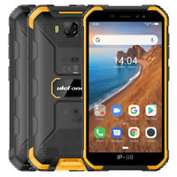 Unlocked Rugged Smartphone 16GB Quad-Core IP68 Waterproof Outdoor Cell Phone