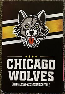 2021-2022 Chicago Wolves Schedule 🏒🥅 Cool Minor League Hockey Sked 🏒🥅