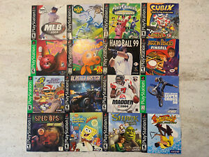 Lot Of 16 Playstation 1 Video Games