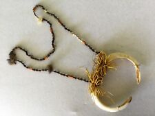 old Ancient traditional tribal ceremonial necklace PNG Paupa New Guinea Tribe