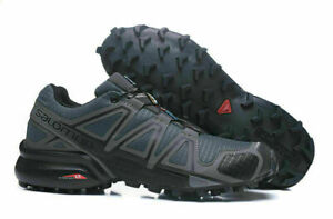 HOT Men' Salomon Speedcross 4 Athletic Running Sports Outdoor breathable Shoes