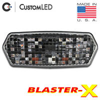 Grom Blaster-X Integrated Tail Light Programmable Ultra-Bright Honda Clear Lens