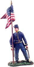 Britains Civil War Union 31071 Cavalry Guidon Bearer Dismounted #1 Mib