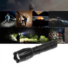 Hunting Light 6000Lm XM-L T6 LED Tactical Flashlight Rifle Gun Rail Torch Mount
