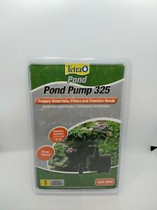 TetraPond Water Garden Pump 325 GPH, For Small Waterfalls, #5863