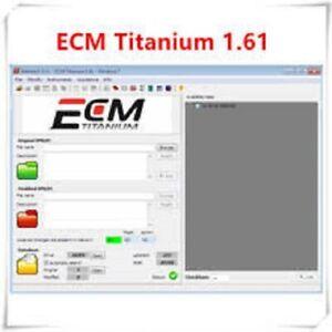 ECM TITANIUM 1.61 26106 Treiber 🚗 WinOLS 2.24 + ECU-Datei entsperren 🔴 Dateien