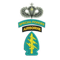 Special Forces Arrowhead Airborne Jump Wings Embroidered Polo Shirt