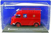 New IXO Michelin Collection 1:43 Diecast Citroen TYPE H Pompiers Usine No.5