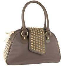 415e3ecafce7 Christian Audigier Gwen Bowler Handbag - Taupe