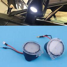 2stk Weiß LED Seitenspiegel Pfütze Lichter für Lincoln MKZ MKS MKX MKT Navigator