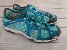 Salomon Amphibian Contagrip Trail Mesh Running Shoes Womens Size 8.5