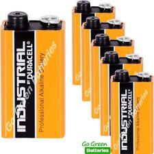 6 x Duracell 9V PP3 Industrial Procell Batteries, Smoke Alarm, LR22 BLOC MN1604