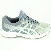 Asics Gel Contend 4 Women's Size 8.5 Gray Turquoise  Running Athletic Shoes EC