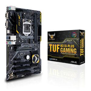 TUF H310-PLUS GAMING Intel Aura Sync RGB LED DDR4 2666MHz support, 10Gbps M.2