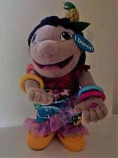 "Disney Store Lilo & Stitch Dancing Lilo Plush Doll Hula Luau Hawaiian 13"" NWT"