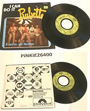 """THE ** RUBBETS ** 45 tour, ( 45rpm ) """" I CAN DO IT """" 1975 . VG+"""