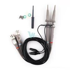 2pcs X1 X10 Oscilloscope Scope Analyzer Clip Probe Test 100MHz For Tektronix HP