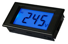 Digital Panel Voltmeter With Illumination. AC 80V-500V