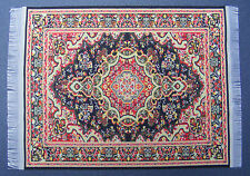 Escala 1:12 25cm X 17.5cm alfombra turca de tejido muñeca casa miniatura Alfombra P35L