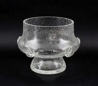 99835339 Vase Eisglas Bayrischer Wald  Farblos Beerennuppen