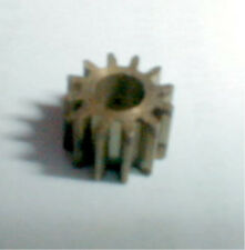"10 TOOTH Tall BRASS PINION  1/8"" SHAFT MOTORS COX NOS slot car 1/24 1/32"