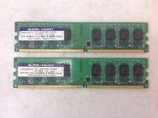 Desktop RAM 4GB 2x2GB PC2 6400U Non-ECC DDR2 800 6400 240pin DIMM Memory LOT