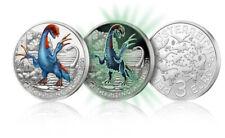 Prévente 3 Euros Commémorative Autriche Coloful Creatures 2021 - Therizinosaurus