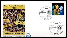 Deutscher Fußballmeister 1996: Borussia Dortmund. FDC(1). Bonn. BRD 1996