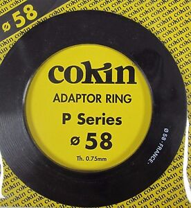 Cokin P458 58mm Adaptor Ring P Series - Free Delivery - UK Stock