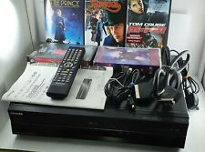 Toshiba DVR20KB VHS to DVD/ Video Cassette  Recorder Freeview - Fully Working