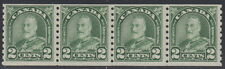 "Canada #180 2¢ King George V ""Arch / Leaf"" Strip of 4 Coil Mint Never Hinged - D"