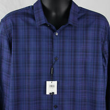 $79.50 Calvin Klein Size XL Classic Fit Shirt Plaid New Roll Up Sleeves Kalvin