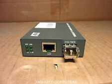 KTI KGC-300-SX 1000Base-T to 1000Base-X Gigabit Media Converter LC MMF EXCL PSU