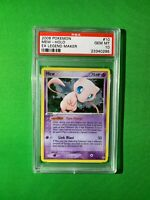 2006 Pokemon EX Legend Maker Mew Holo #10 PSA 10 Gem Mint