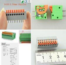 KLEMMANSCHLUSS 10 Pin 2.54mm Platine Connector Terminal Block Anschluss Buchse