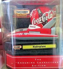 Matchbox Models Collectibles Coca Cola Hydroplane Diecast Scale Toys Sea Boats