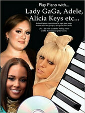 Play Piano With Lady Gaga Adele Alicia Keys etc (With Book & CD) (Play Piano Wit