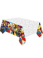 Amscan International 571609 1.37 X 2.43 M DC Super Hero Girls Plastic Table Cove