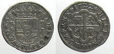 *TRIU* SPAGNA Filippo V 2 REALES 1722 SJ argento
