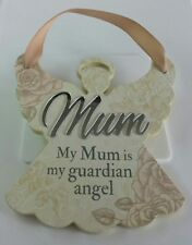 'Mum' Hanging Angel Reflective Words & Sentiments From History & Heraldry.