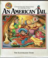 Children's Book ~ AN AMERICAN TAIL ~ Emily Perl Kingsley HCDJ 1st Edition