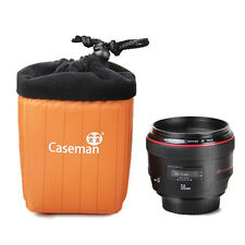 Caseman 10CM camera Lens Bag 08A-10 Protector Padded single Lens Pouch Case