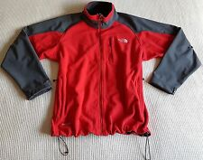 The North Face Men's XL Red & Grey Canadian Windstopper Fleece